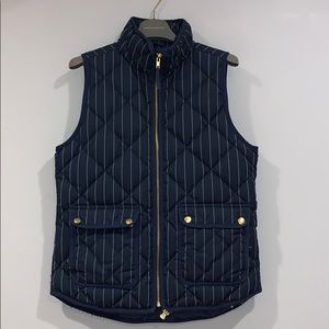 JCrew Pin Stripe Vest